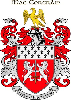 CORCORAN family crest