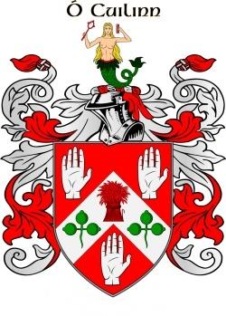 CULLINANE family crest