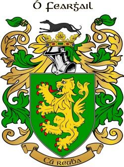 O'Farrell family crest