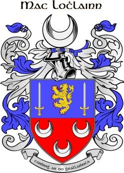 LOUGHLIN family crest