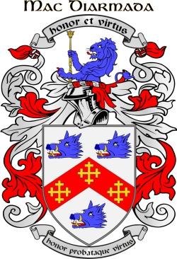 MCDERMOTT family crest