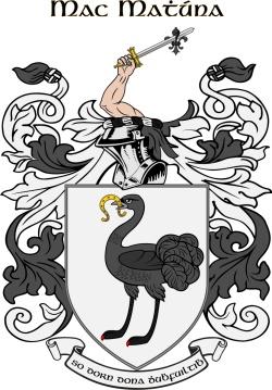 MCMAHON family crest