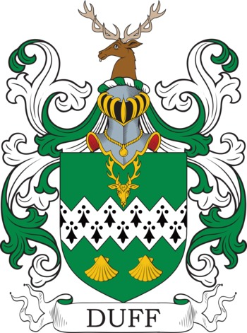DUFF family crest
