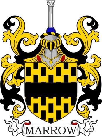 MARROW family crest