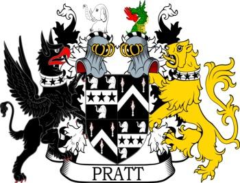 PRATT family crest