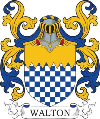 WALTON family crest