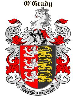 O'GRADY family crest