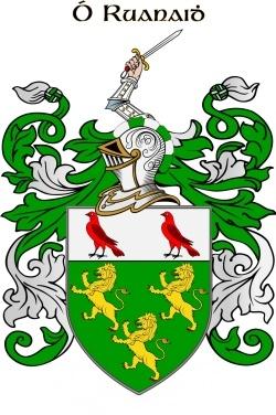 ROONEY family crest