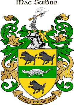 SWEENY family crest