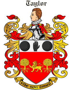 TAYLOR family crest
